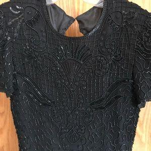 Silk Beaded Dress